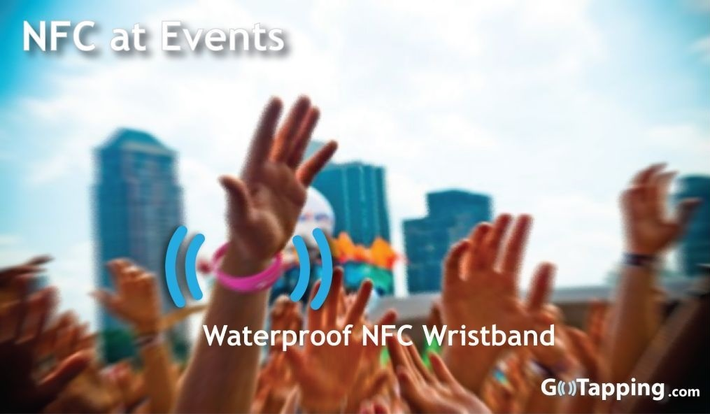 NFC uses at Events